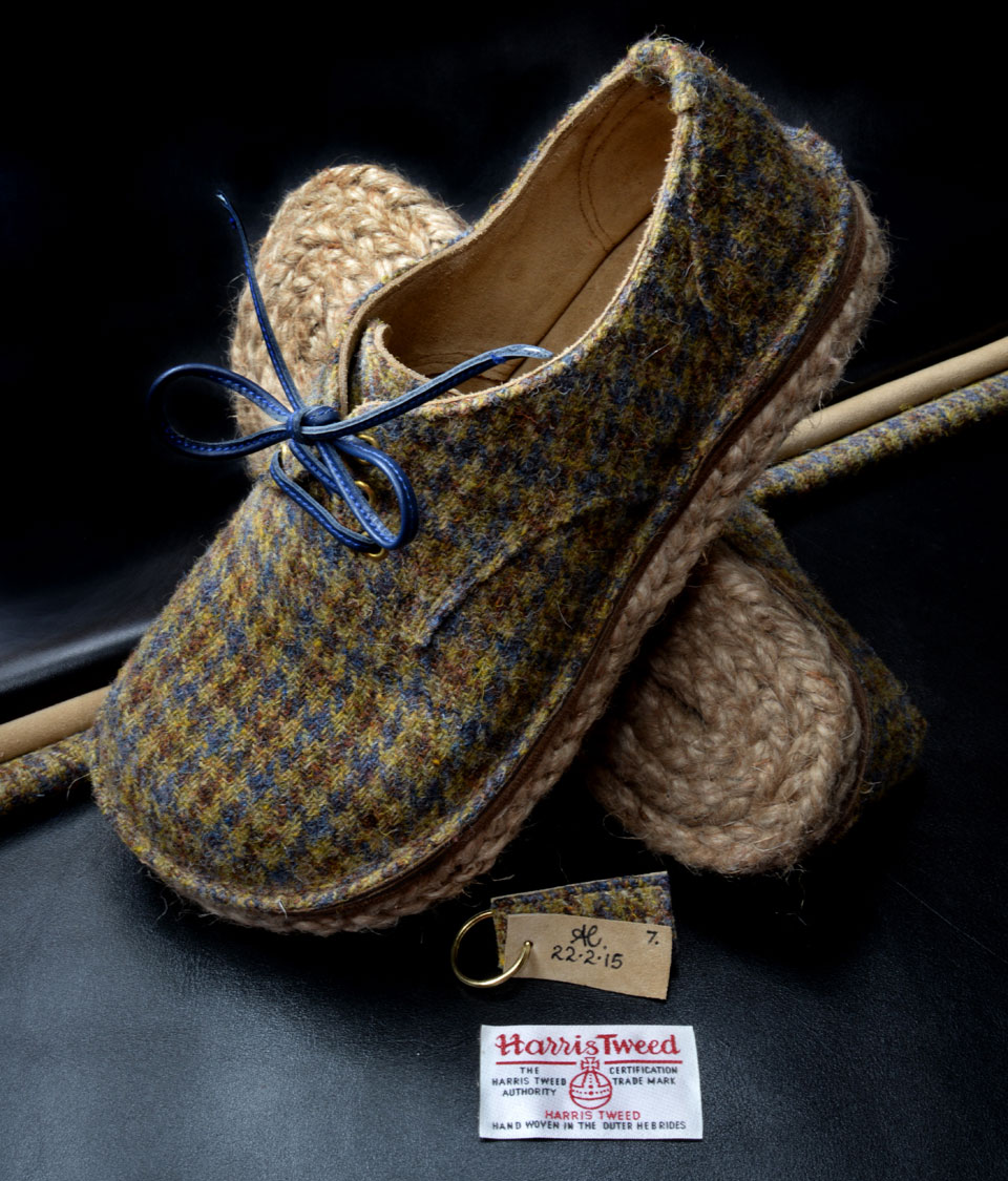custom rope soled slippers wales, uk